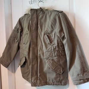 Children's Place Cargo Jacket Size 7/8